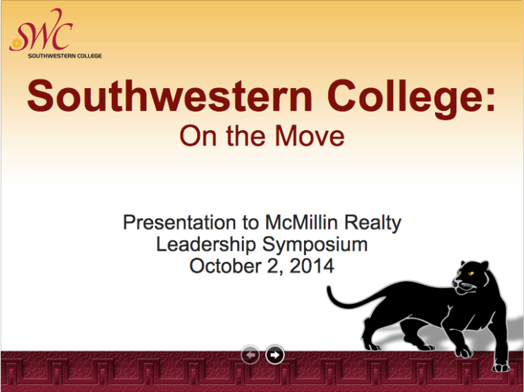SWC On the Move Presentation