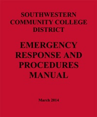 Southwestern Community College District  Emergency Response and Procedures Manual - MARCH 2014