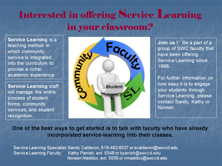 SL faculty flyer