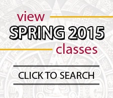 Search for Classes Spring 2015