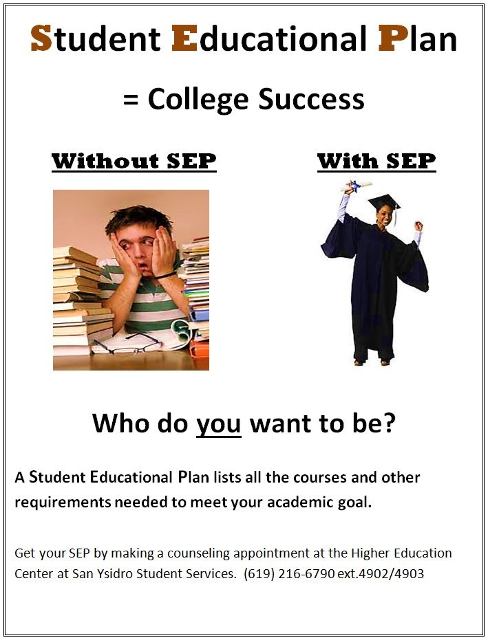 Student Education Plan