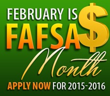 February os FAFSA month