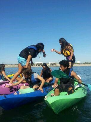 Kayak Team Bldg