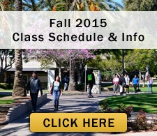 Fall 2015 Class Schedule and info