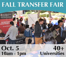 Fall 2015 Transfer Fair Button