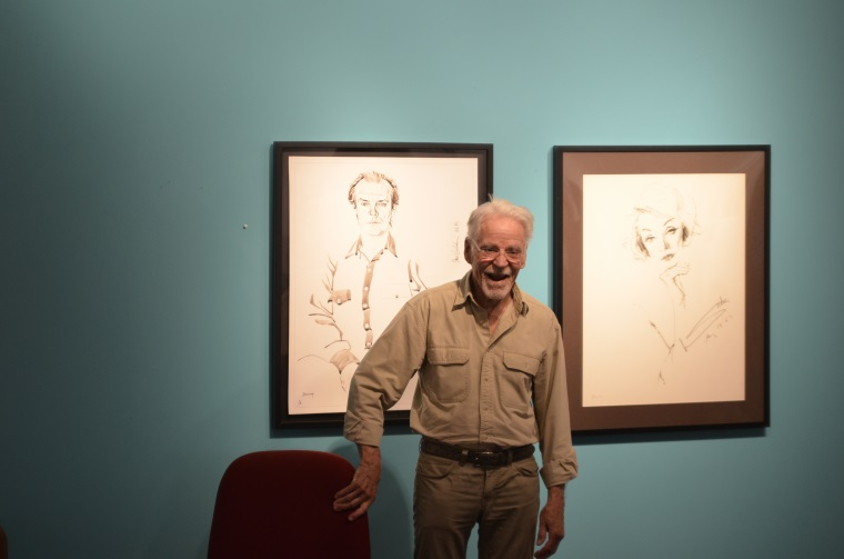 Hollywood Portrait Artist Don Bachardy's Work on Display at Southwestern College