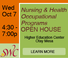 Nursing & Health Occupational Programs OPEN HOUSE