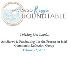 San Diego Reggio Roundtable Thinking Out Loud