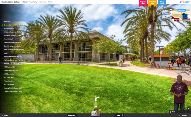 Southwestern College Powers up their Virtual Reality Campus