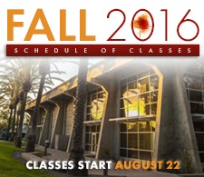 Fall 2016 Class Schedule and Information
