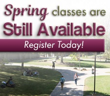 Spring 2017 Register for Classes