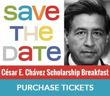 Cesar Chavez Scholarship Breakfast Tickets