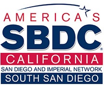 SMALL BUSINESS DEVELOPMENT CENTER South San Diego Logo