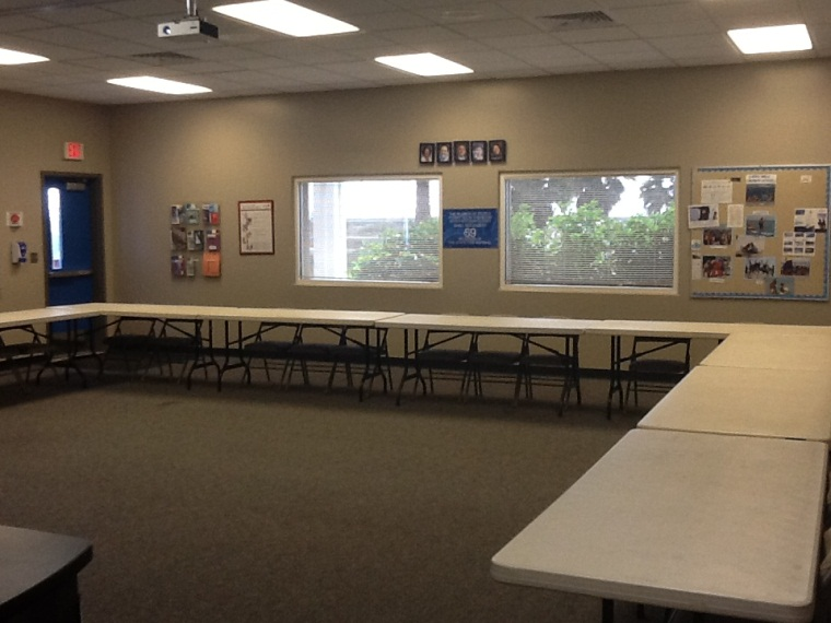 Classroom West-Facing view