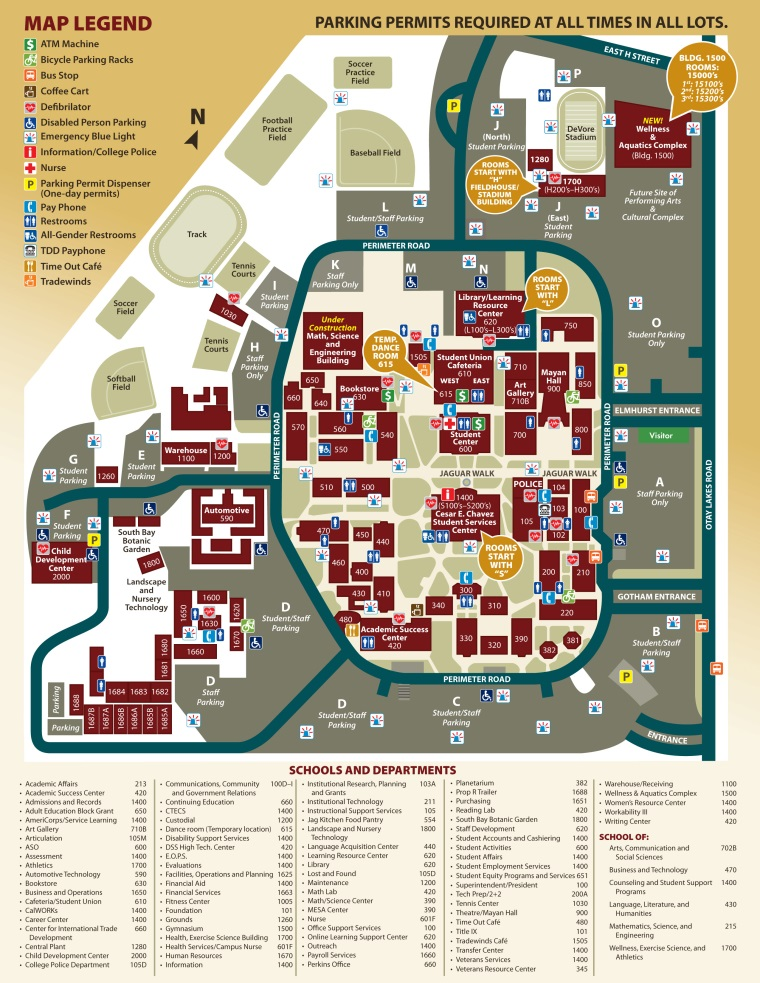 Campus Map (updated Spring 2018)