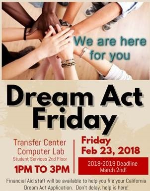 Dream Act Friday