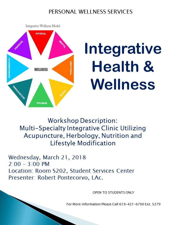 Integrative Health and Wellness