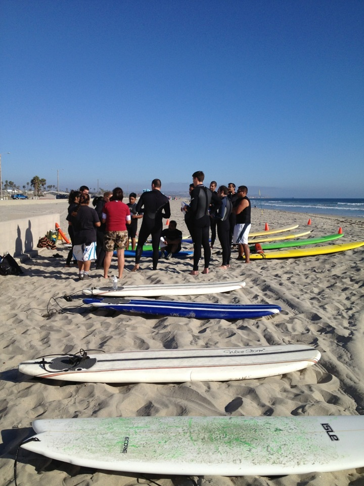 CCAC Surfing Class