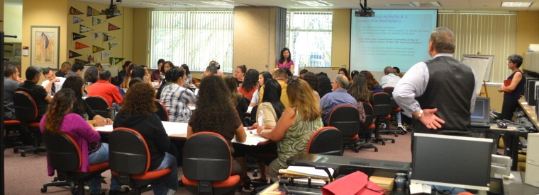 photo of student services session