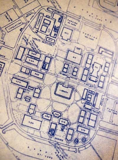 Original Southwestern College Campus Plans