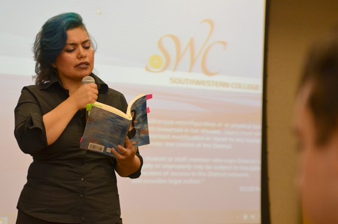 Spider Woman: Author Sonia Gutierrez reads from her debut book of bilingual poetry, Spider Woman, La Mujer Araña.