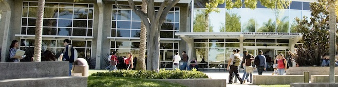 Image of the Student Center building