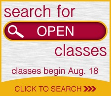 Search for open classes