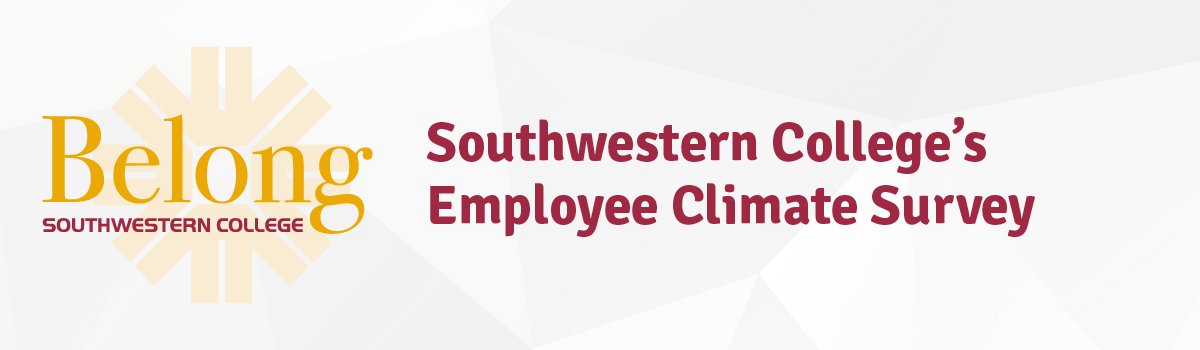 "Graphic that says ""Employee Climate Survey"""