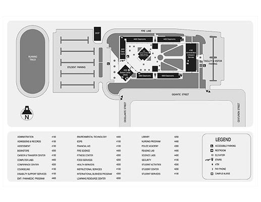 Higher Education Center at Otay Mesa Map