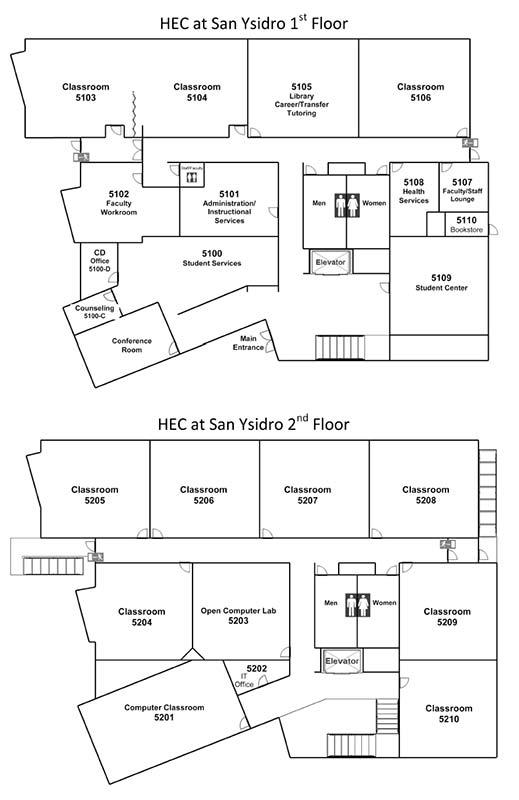 HEC San Ysidro Map