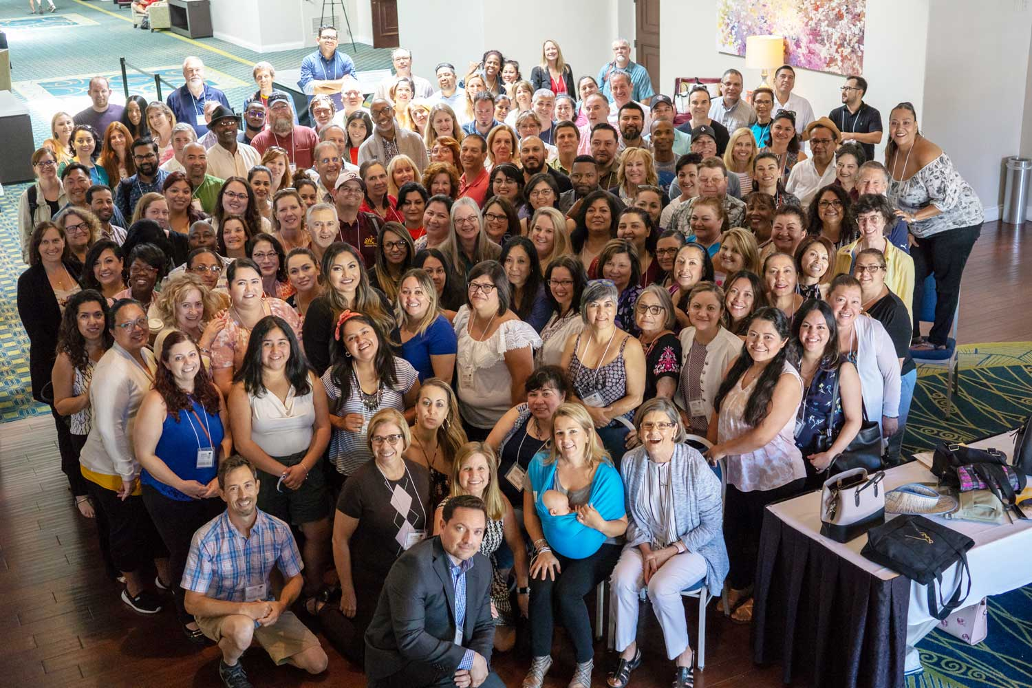 Photo of Guided Pathways Summit 2018 Attendees