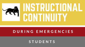 Contingency Instruction - STUDENT site