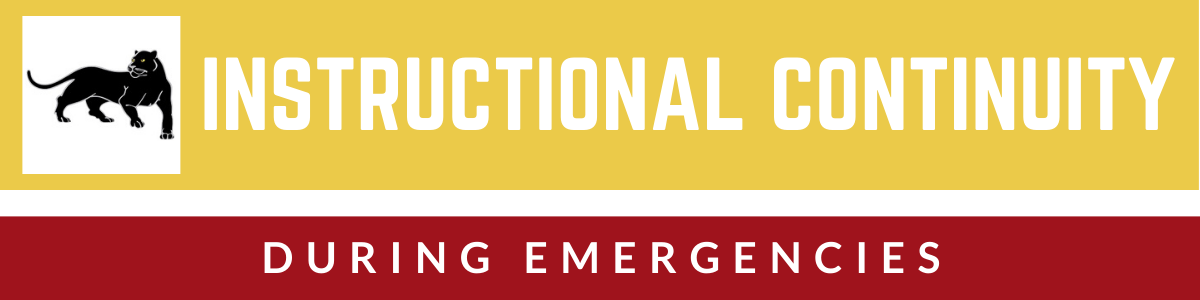 Instructional Continuity During Emergencies