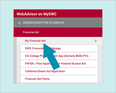 WebAdvisor on MySWC