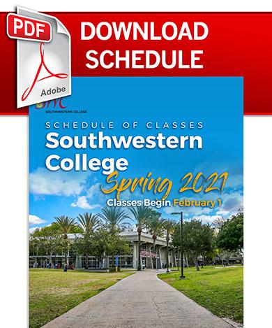 Swc Calendar 2021 Class Schedule