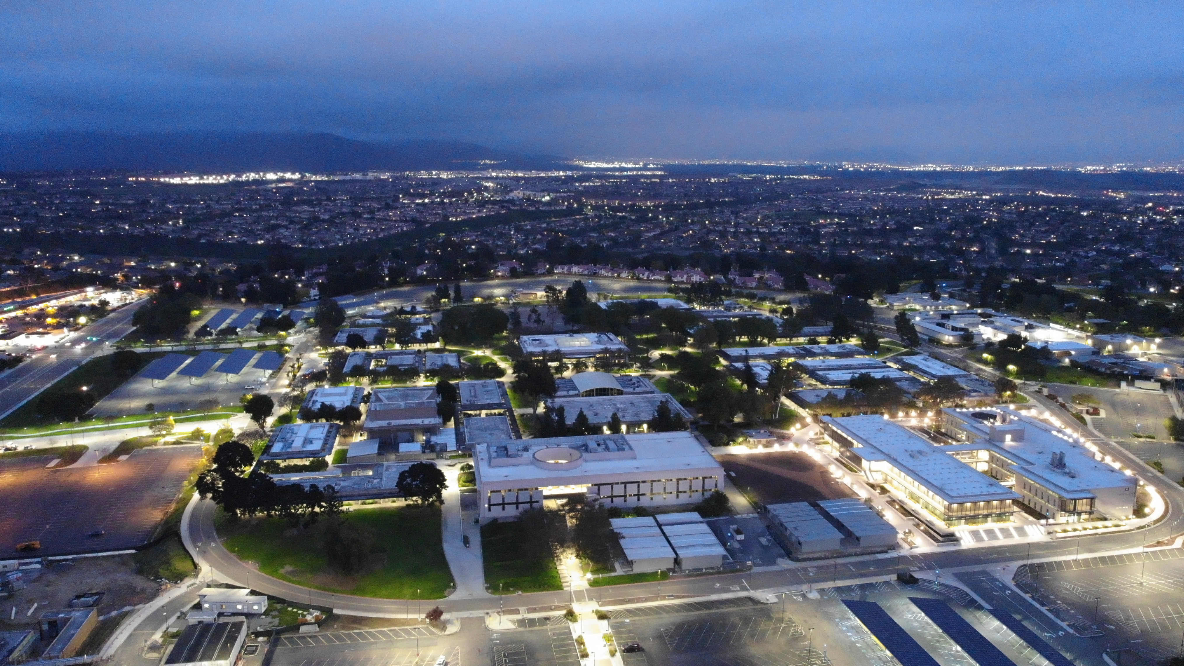 Southwestern College at Night