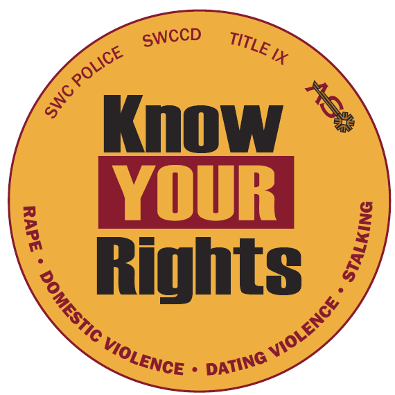 Title IX - Know Your Rights Logo