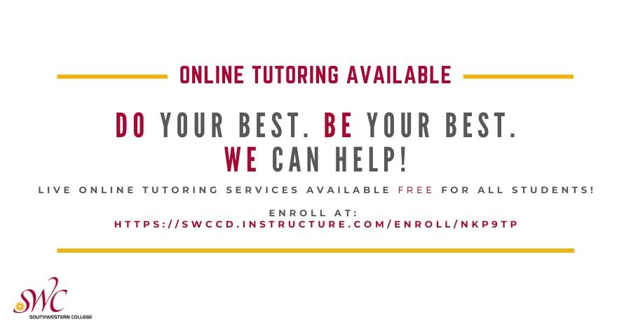 Banner for online tutoring