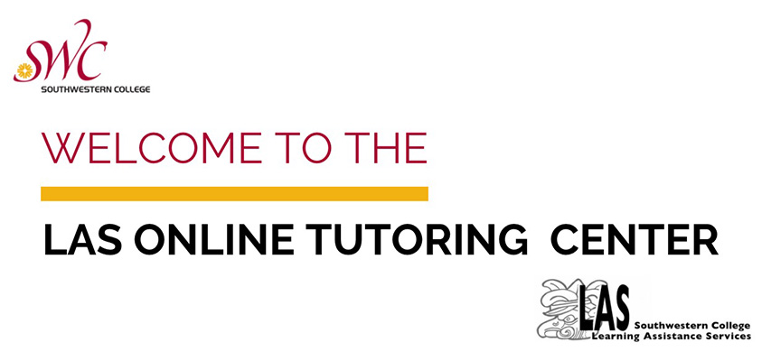 Welcome to the LAS online tutoring Center