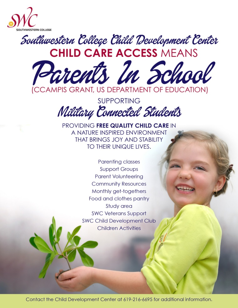 Child Development Center Flyer