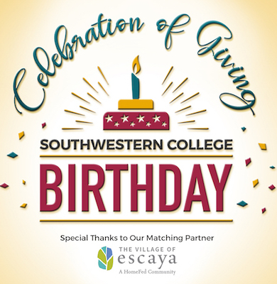 SWC Birthday Image of a Balloon and Celebration of Giving